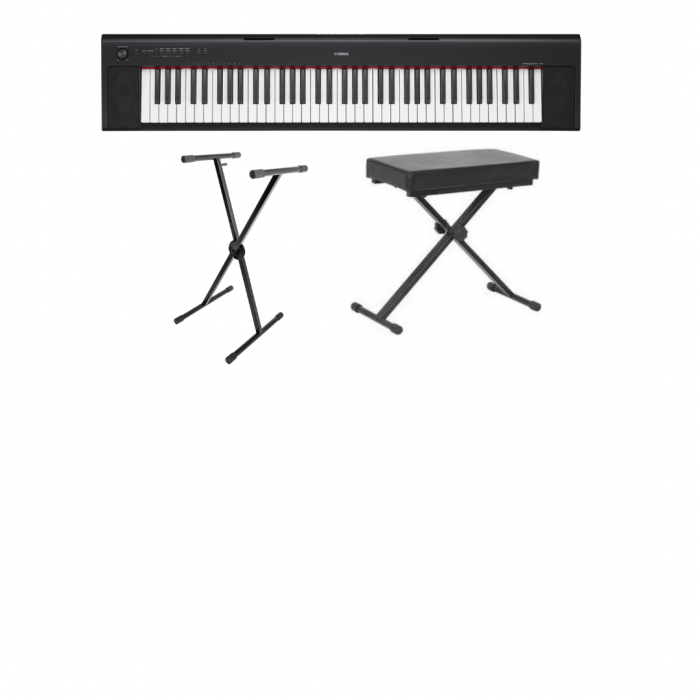 Holiday program Keyboard, stand and stool